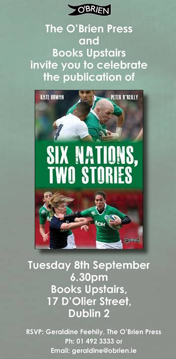 Six Nations, Two Stories Launch Invite
