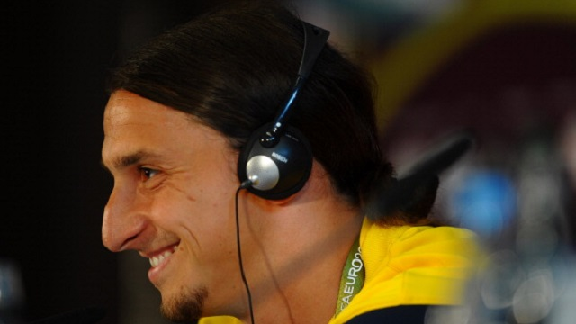 Sweden Training and Press Conference - Group D: UEFA EURO 2012